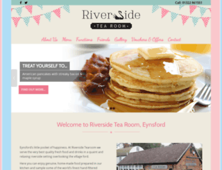 riverside-tearoom.co.uk screenshot