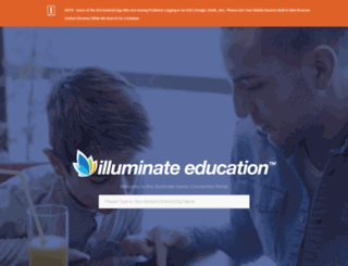 riversidecoe.illuminatehc.com screenshot