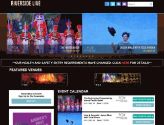 riversidelive.com screenshot