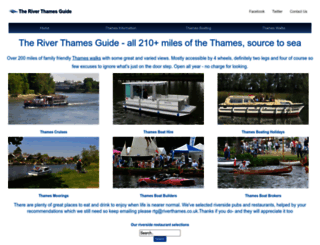 riverthames.co.uk screenshot