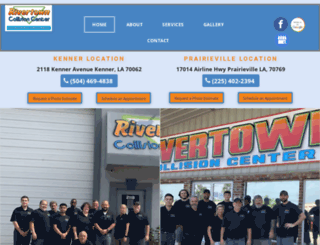 rivertowncollisioncenter.com screenshot