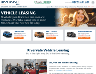 rivervaleleasing.co.uk screenshot