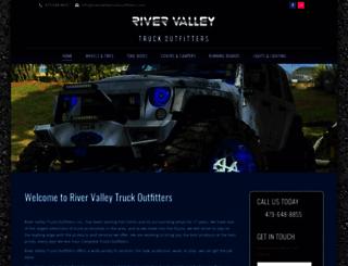 rivervalleytruckoutfitters.com screenshot