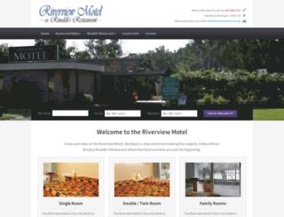 riverviewmotel.com.au screenshot