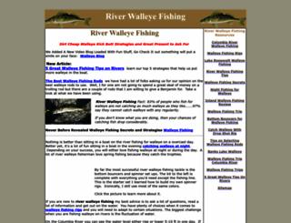 riverwalleyefishing.com screenshot