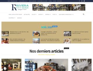 riviera-city-guide.com screenshot
