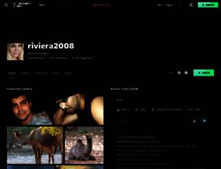 riviera2008.deviantart.com screenshot