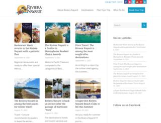 rivieranayaritblog.com screenshot