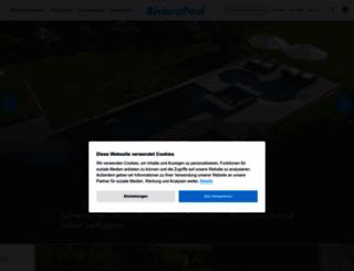 rivierapool.com screenshot