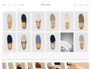 rivieras-shoes.eu screenshot