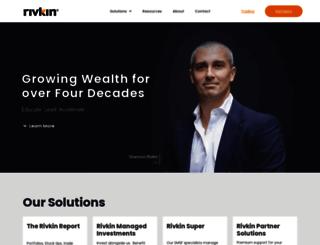 rivkin.com.au screenshot