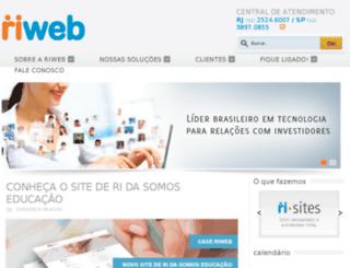 riweb.comunique-se.com.br screenshot