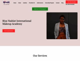 riyavashist.com screenshot