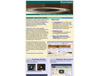 riyazstudio.com screenshot