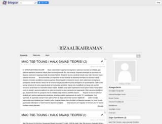 rizaalikahraman.blogcu.com screenshot