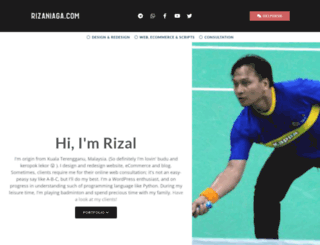 rizaniaga.com screenshot