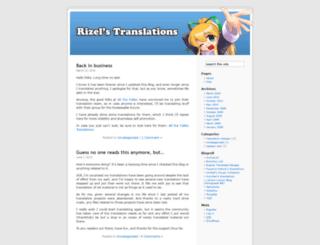 rizeltrans.wordpress.com screenshot