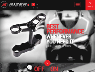 rizer-racing.com screenshot