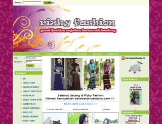 rizkyfashion.com screenshot
