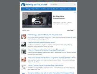 rizkyzone.com screenshot