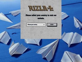 rizla.com screenshot