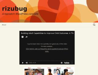 rizubug.wordpress.com screenshot