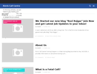 rizviscallcentretrainingprogram.blogspot.com screenshot