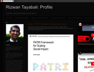 rizwantayabali.info screenshot