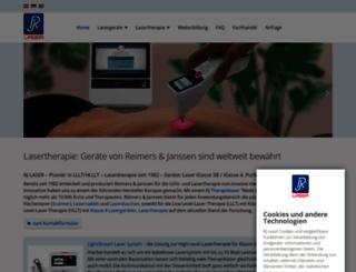 rj-laser.com screenshot