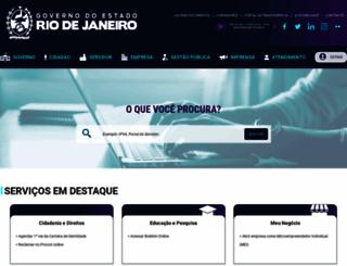 rj.gov.br screenshot