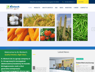 rjbiotech.com screenshot