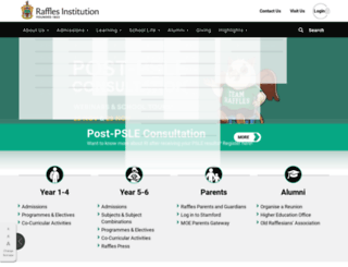 rjc.edu.sg screenshot