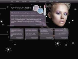 rjmineralcosmetics.com.au screenshot