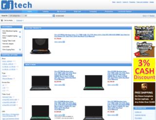 rjtech.com screenshot
