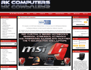 rkcomputer.net screenshot