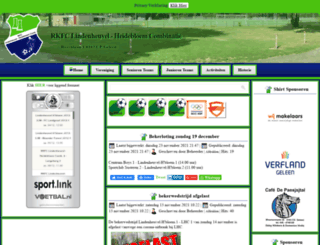 rkfclindenheuvel.nl screenshot