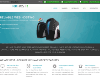 rkhost.net screenshot