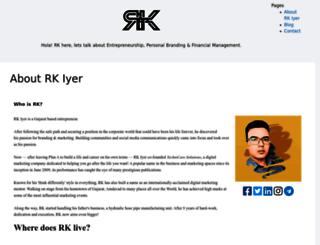 rkiyer.com screenshot