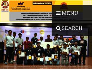 rknec.edu screenshot