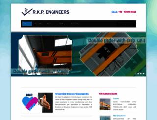 rkpengineers.com screenshot