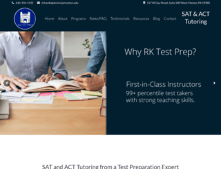 rktestprep.com screenshot