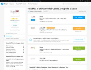 rktshirts.bluepromocode.com screenshot