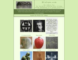 rlalique.com screenshot