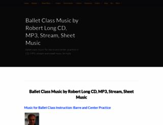 rlongballetmusic.com screenshot