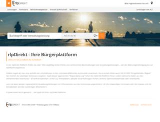 rlp-buergerinfo.de screenshot