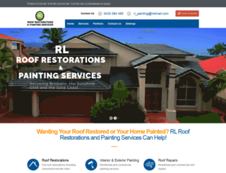 rlproofrestorations.com.au screenshot
