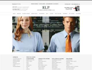 rlpuniform.com screenshot