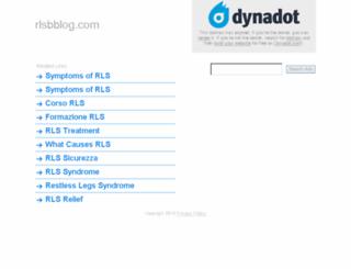 rlsbblog.com screenshot