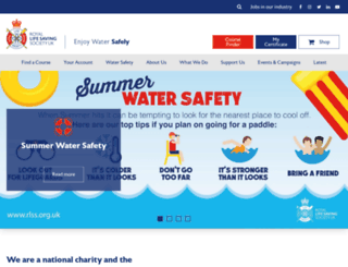 rlss.org.uk screenshot