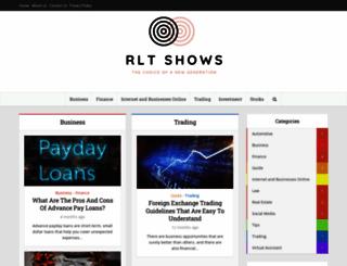 rltshows.com screenshot